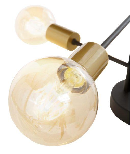 Lampa sufitowa w kolorze złotym, stul glamour