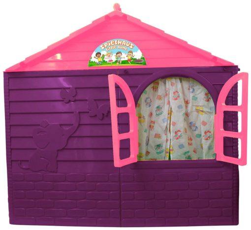 Domek do zabawy, do ogrodu, z drzwiami, oknami
