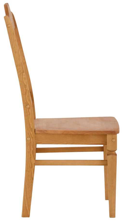 """Sosnowe krzesła """"Hendrik"""" w pięknym, romantycznym stylu - 2 sztuki"""
