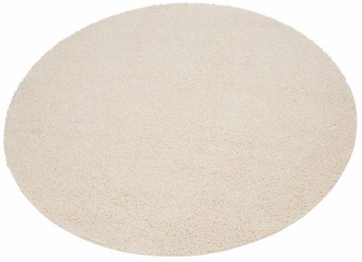 Dywan z długim włosiem Shaggy, okrągły, tkany, 140 cm