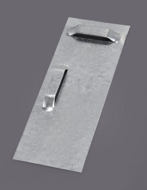 Lustro w srebrnej ramie, 80x 60 cm