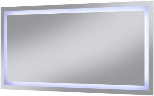 Lustro ze zintegrowanym oświetleniem led 120x60 cm