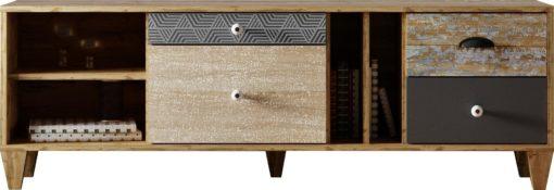 Szafka pod telewizor niezwykły design, 147 cm