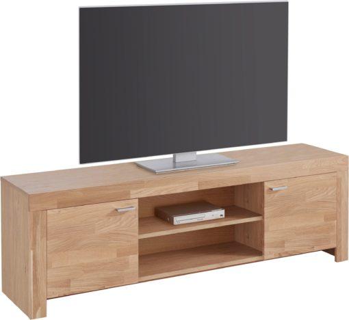 Szafka pod telewizor z dębowym frontem 148,5 cm