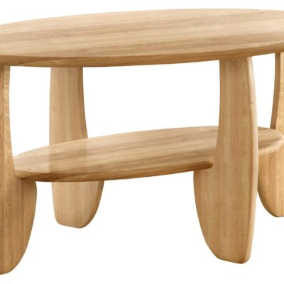 Piękny stolik kawowy/ do salonu z drewna dębowego