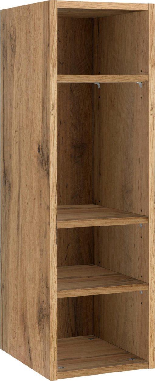 Regał do zawieszenia na ścianie, 3 półki, dąb naturalny
