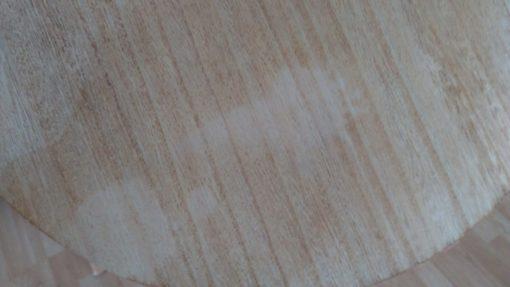 Zestaw dwóch stolików, metal + drewno