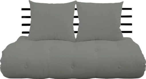 Designerska kanapa z materacem futon i miejscem do spania