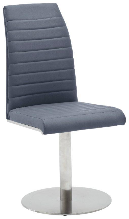 Krzesła obrotowe MCA, skóra syntetyczna - 2 sztuki