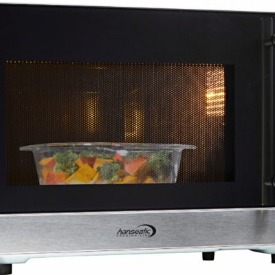 Hanseatic kuchenka mikrofalowa 564196, grill i termoobieg, 23 l