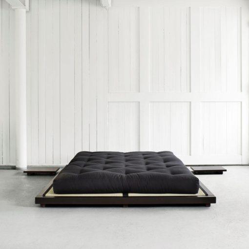 Łóżko w stylu azjatyckim 160x200 cm, wenge, KARUP