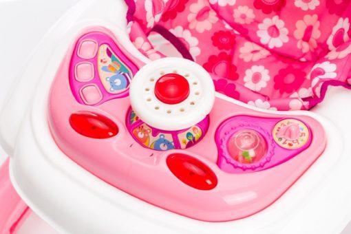Chodzik dla niemowląt w kolorze różowym od fillikid