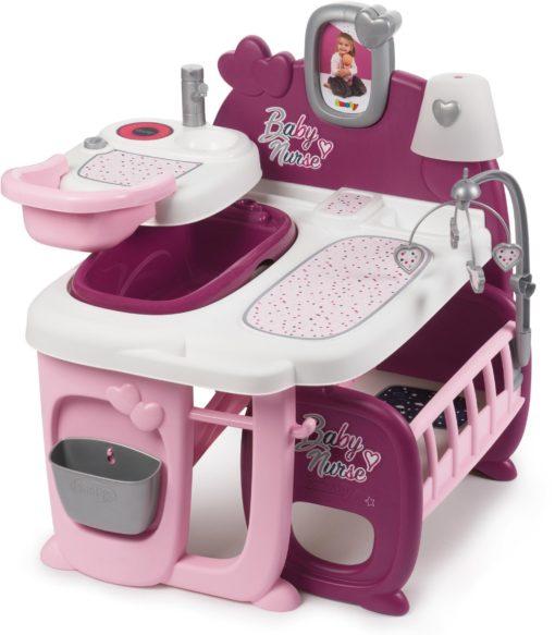 Smoby Baby Nurse kącik pielęgniarki dla lalek, akcesoria