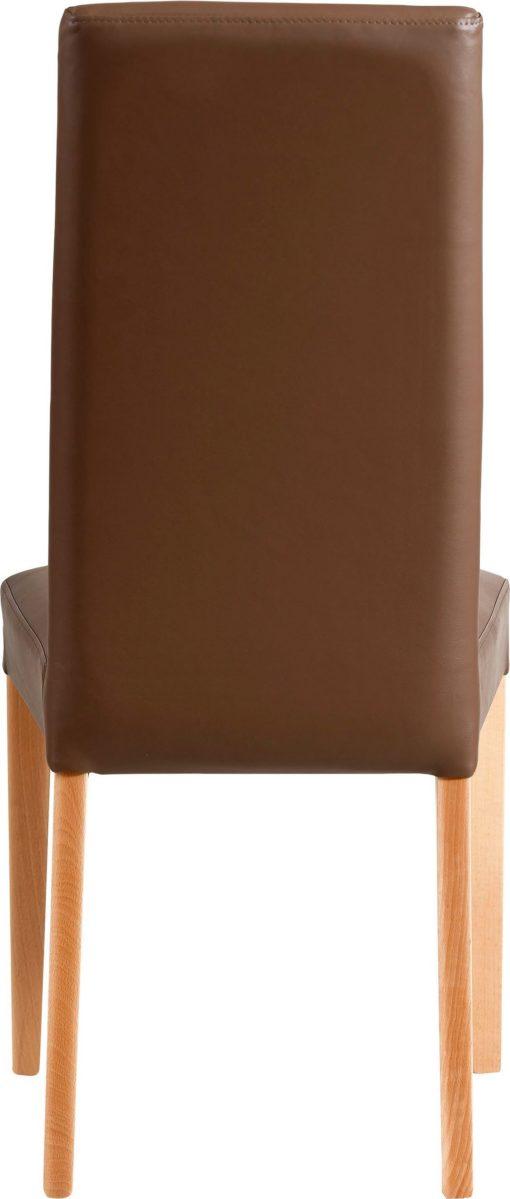 Pięknie tapicerowane krzesła, sztuczna skóra - 2 sztuki