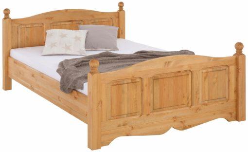 Piękne sosnowe łóżko 140x200 cm, olejowane
