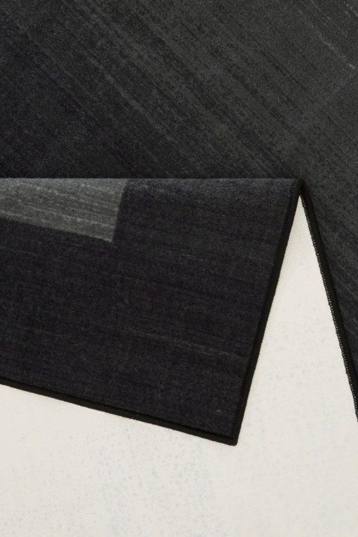 Tuftowany antracytowy dywanik 50x100 cm