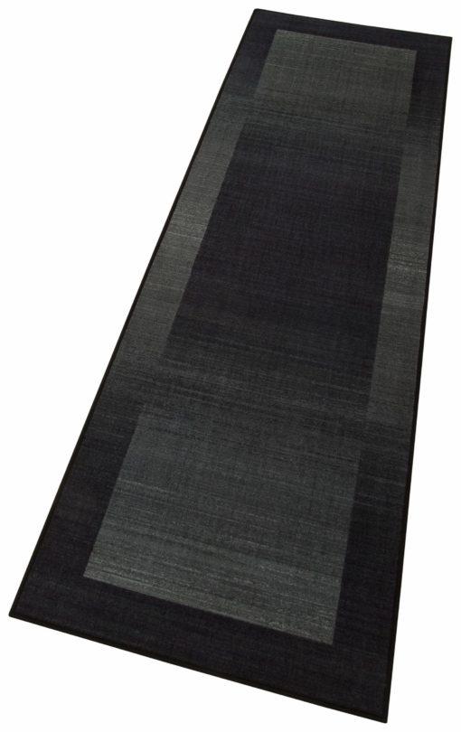 Tuftowany antracytowy dywanik 80x250 cm