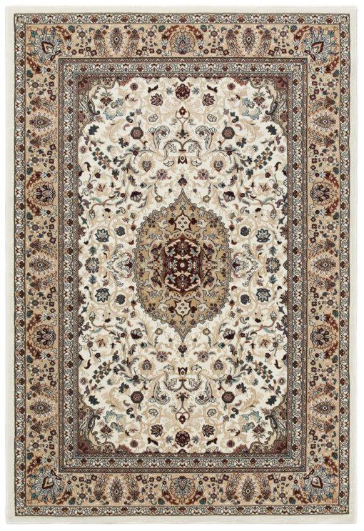 Klasyczny, wzorzysty dywan 80x175 cm, tkany maszynowo