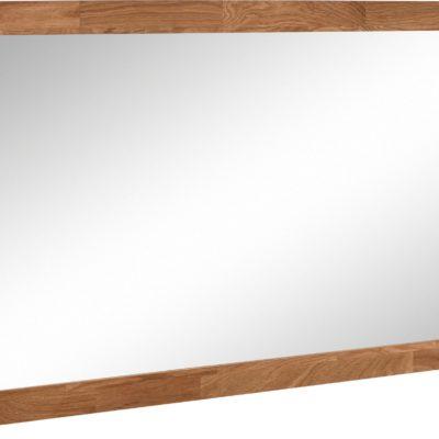 Lustro w dębowej ramie 130x49 cm