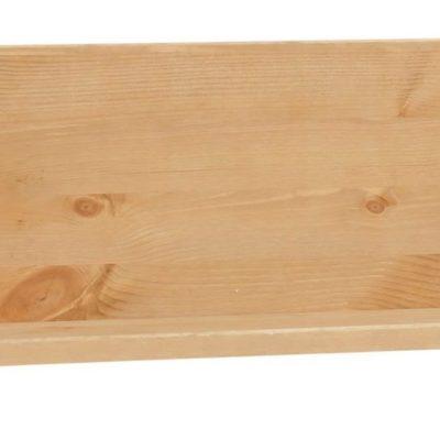 Sosnowa półka ścienna 140 cm, naturalna