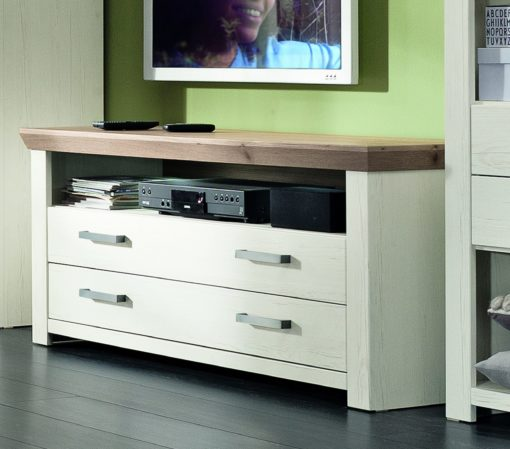 Szafka pod telewizor 140 cm, pino aurelio, 2 szuflady
