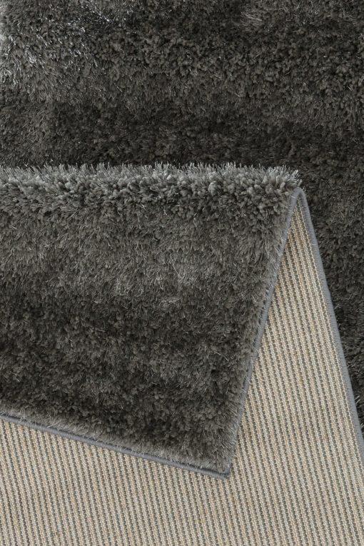 Miękki szary dywan 67x230 cm