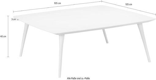 Kwadratowy stolik styl skandynawski 105x105 cm