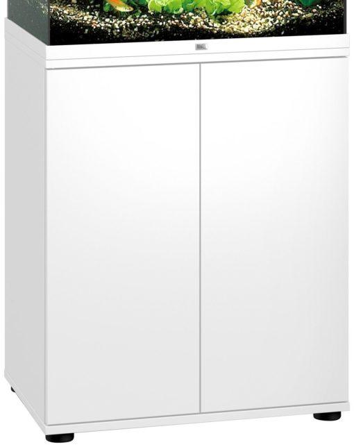 Stabilna szafka pod akwarium, dwudrzwiowa, biała