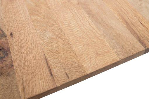 Nowoczesny stolik kawowy, blat z drewna dębowego
