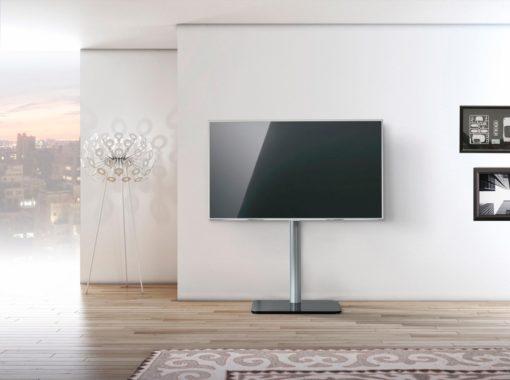 Stojak podłogowy na telewizor z płaskim ekranem