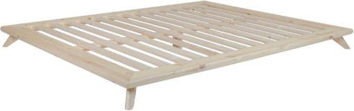 Sosnowe łóżko Karup 180x200 cm w stylu japońskim