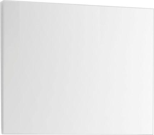 Lustro do montażu na ścianie 80x65 cm, białe