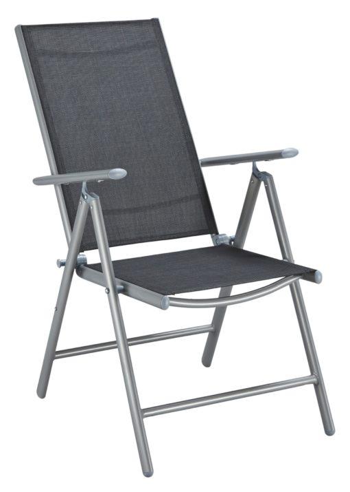 Krzesła ogrodowe MERXX zestaw 2 sztuki, czarne