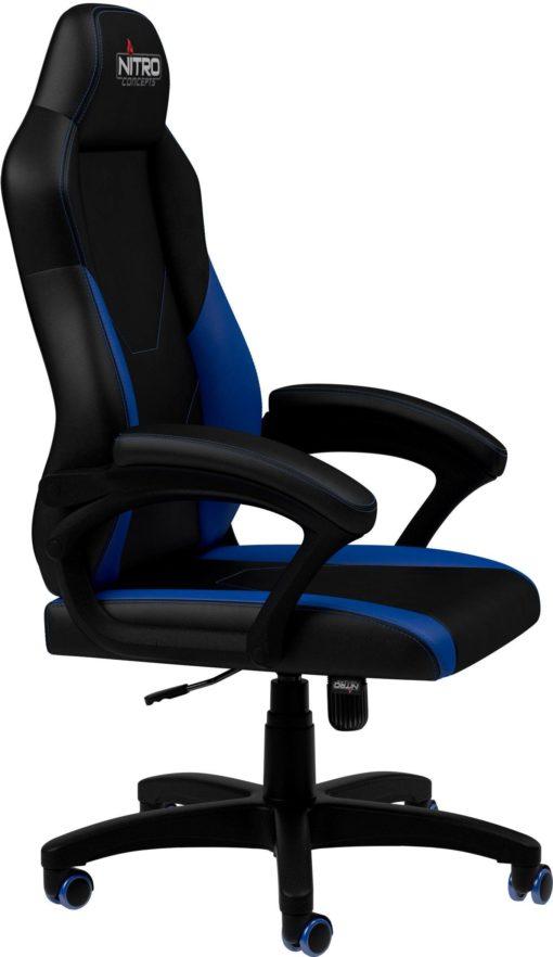 Fotel gamingowy Nitro Concepts czarno-niebieski