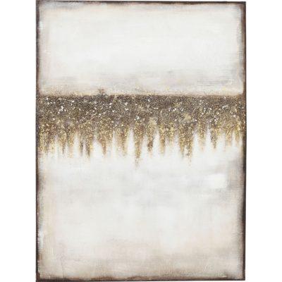 Ręcznie malowany obraz akrylowy na płótnie 120x90 cm