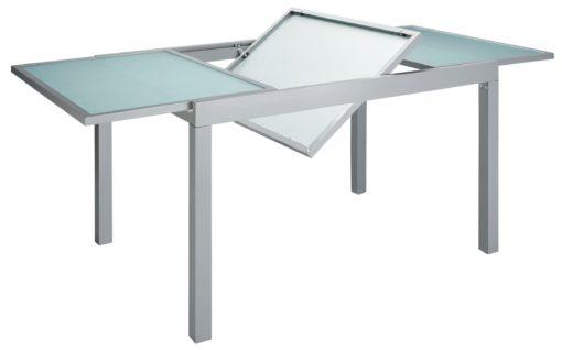 Zestaw mebli ogrodowych rozsuwany stół i 6 krzeseł