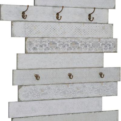 Dekoracyjny panel ścienny w odcieniach szarości