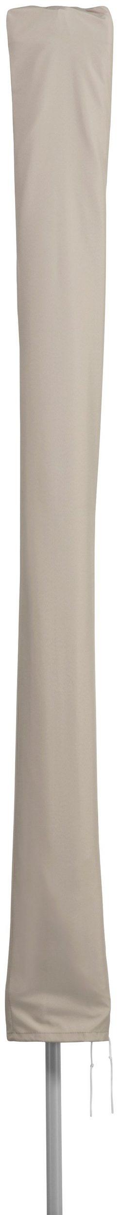 Parasol ogrodowy 140 x 190 cm, naturalny