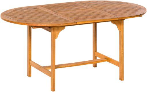 Rozkładany stół ogrodowy z drewna akacjowego Merxx