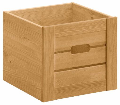 Sosnowa skrzynka idealna do regału bądź szafki