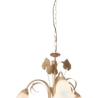 Nostalgiczny żyrandol we florenckim stylu, odcienie złota