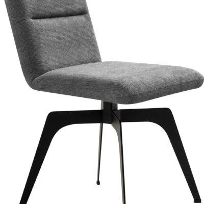 Szare krzesło Erin o nowoczesnym designie