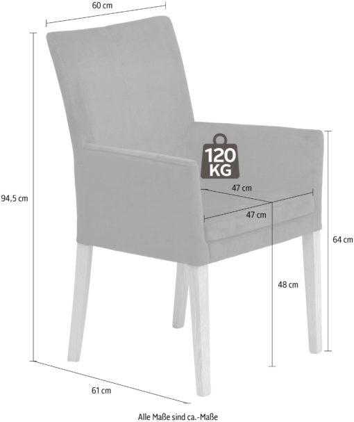 Klasyczny fotel ciemno brązowy, welurowy, dębowe nogi