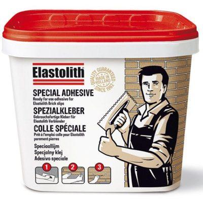 Klej ELASTOLITH, specjalny klej do cegieł licowych, 15 kg, szary cementowy