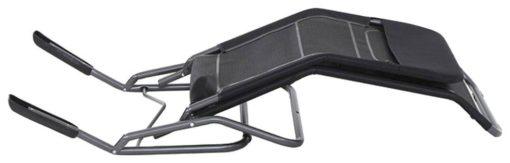 Składany leżak ze stalową ramą