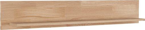 Półka ścienna w kolorze drewna dębowego 120 cm
