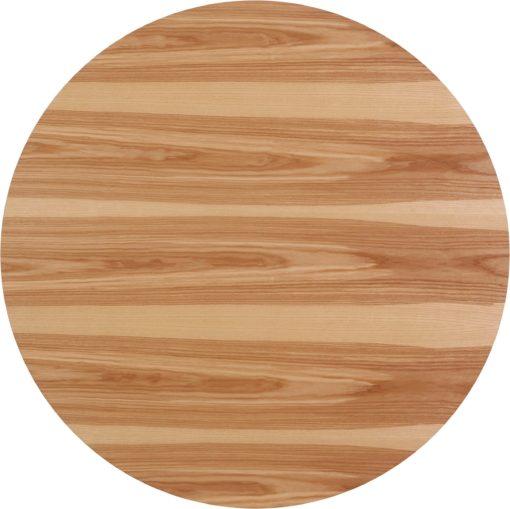 Okrągły stół 110 cm z jesionowymi nogami, skandynawski