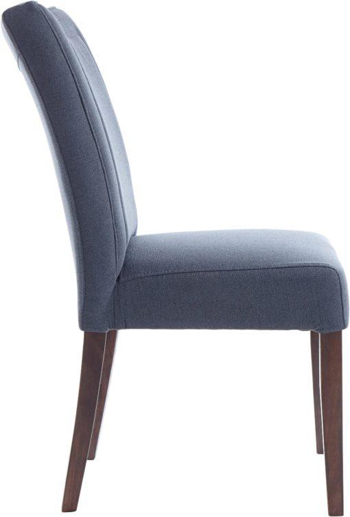 Piękne, eleganckie krzesła w kolorze antracytowym - 2 sztuki