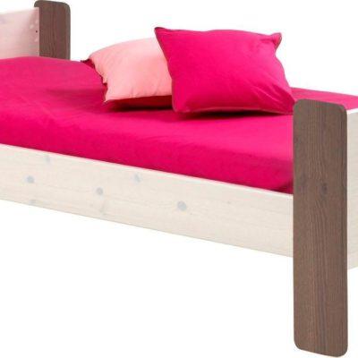 Łóżko dziecięce ze stelażem 90x200 cm, duński design