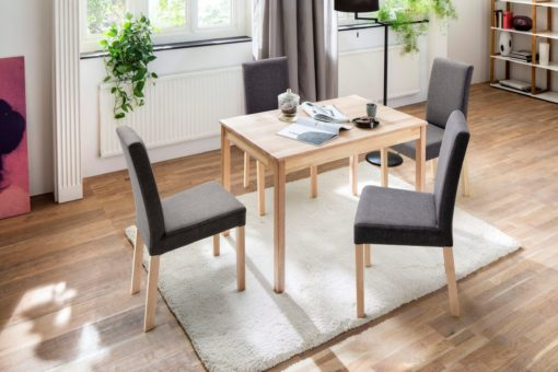 Piękny i ponadczasowy, drewniany stół do jadalni, bukowy